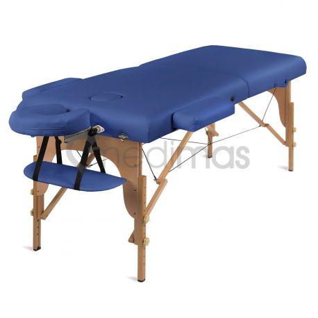 Stół do masażu składany - drewniany 2 sekcje Prosport2 Deluxe