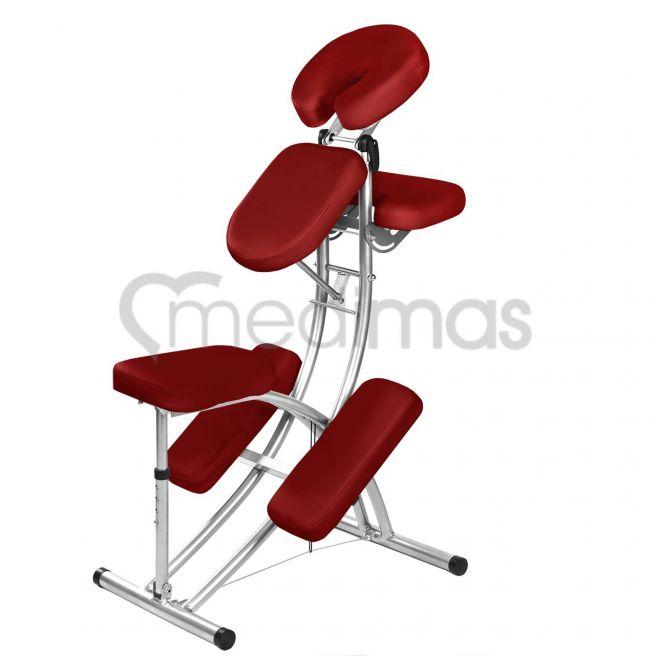 Krzesło do masażu aluminiowe - składane Delta