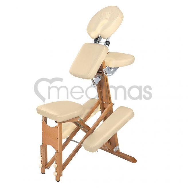 Krzesło do masażu drewniane - składane  Vigor