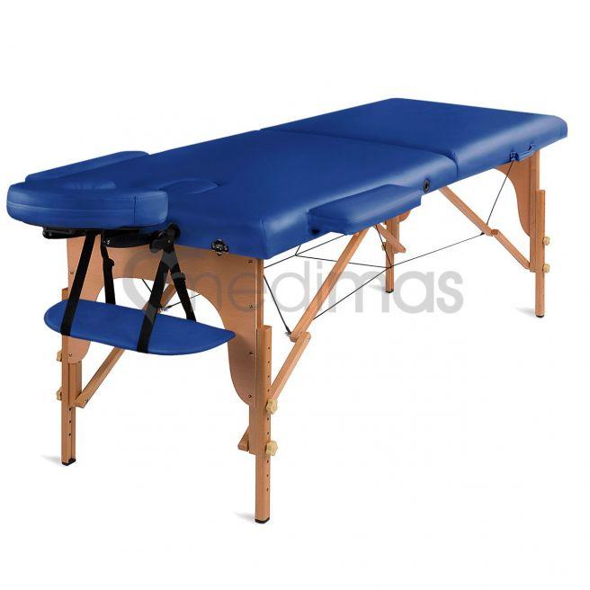 Stół do masażu składany - drewniany 2 sekcje Prosport2