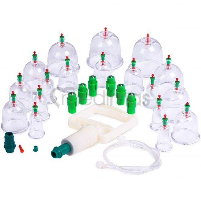 Bańki próżniowe akupunkturowe plastikowe 18 szt.