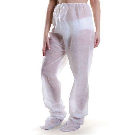 Jednorazowe spodnie z włókniny do limfodrenażu 1szt